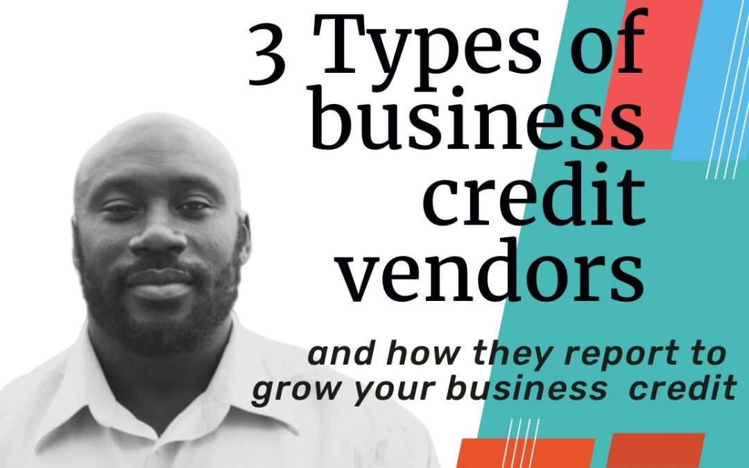 3 types of business credit vendors