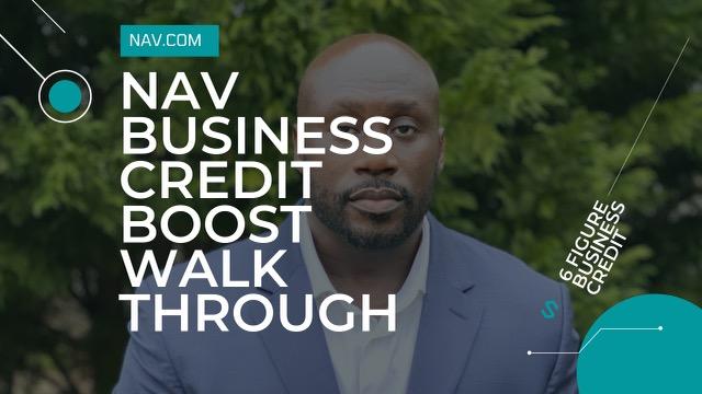 Nav Business boost walk through